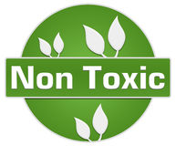 Non Toxic Green Circle Leaves Stock Photography