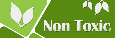 Non Toxic Green Rounded Squares Royalty Free Stock Images