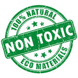 Non toxic product. Vector stamp Royalty Free Stock Photography