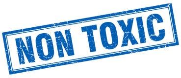 Non toxic square stamp Stock Image