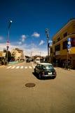 Non-urban street in Takayama Royalty Free Stock Image