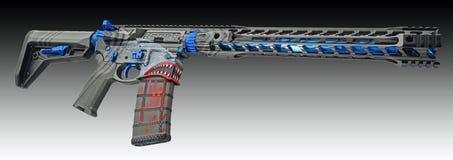 Non vos grands-pères AR15 HDR personnalisé par fusil image libre de droits