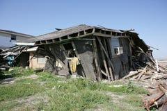 Nona casa del quartiere con la Jersey Fotografia Stock