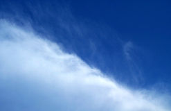половинное небо Стоковые Фото