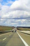 高速公路运输 库存图片