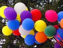 партия воздушных шаров Стоковое Фото