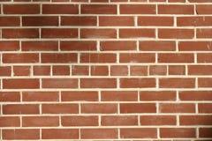 背景砖模式红色墙壁 免版税库存照片