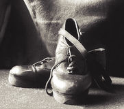 шагать ботинок Стоковая Фотография