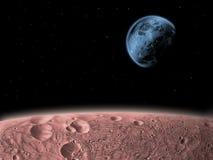 διαστημικό να αναρωτηθεί Στοκ εικόνα με δικαίωμα ελεύθερης χρήσης