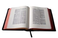 библия открытая Стоковое Фото