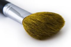 σκόνη προσώπου βουρτσών Στοκ εικόνα με δικαίωμα ελεύθερης χρήσης