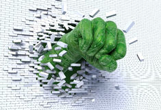 цифровой кулачок Стоковое Изображение