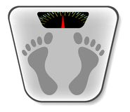 сетноой-аналогов вектор маштаба ванной комнаты Стоковое фото RF
