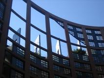 το Ευρωπαϊκό Κοινοβούλιο Στοκ φωτογραφίες με δικαίωμα ελεύθερης χρήσης