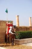 卫兵摩洛哥皇家的拉巴特 免版税库存图片