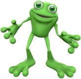蛙 免版税图库摄影