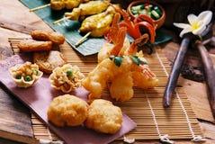 泰国进入的食物 免版税库存照片