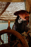 скелет пирата Стоковые Изображения