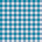голубая таблица ткани Стоковое Изображение