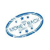 橡胶墨水印花税: 货币返回 免版税图库摄影
