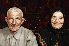 夫妇前辈 库存照片