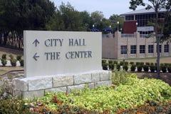 市政厅符号 库存图片