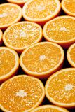 μαύρο πορτοκάλι μισών ανασ Στοκ φωτογραφία με δικαίωμα ελεύθερης χρήσης