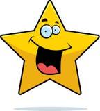 微笑的星形 免版税库存图片