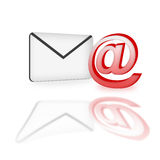 电子邮件图标 免版税库存照片