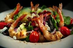 γαρίδες σαλάτας Στοκ Εικόνα
