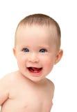ευτυχές γέλιο μωρών Στοκ εικόνα με δικαίωμα ελεύθερης χρήσης