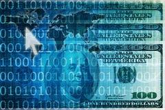 在线付款 免版税库存图片