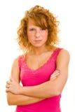 冷静妇女 免版税库存图片