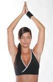 женщина гимнастики Стоковые Изображения RF