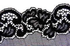 черный шнурок Стоковые Изображения