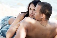 肉欲的夫妇 免版税库存图片