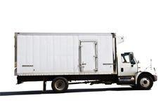 发运被冷藏的卡车 免版税库存图片