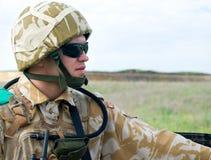英国战士 免版税库存照片