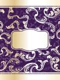 шикарное вино шаблона ярлыка Стоковые Фото