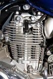 镀铬物引擎 免版税库存照片