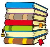 书堆 免版税库存图片