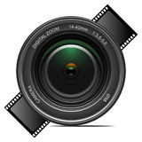 φακός φωτογραφικών μηχανών Στοκ φωτογραφίες με δικαίωμα ελεύθερης χρήσης