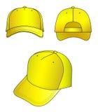 ΚΑΠ κίτρινη Στοκ εικόνες με δικαίωμα ελεύθερης χρήσης