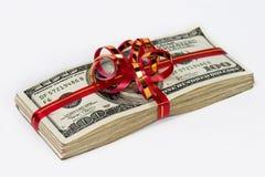 στοίβα χρημάτων Στοκ Εικόνα