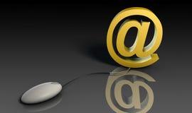электронная почта Стоковая Фотография RF
