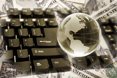 全球的财务 库存图片