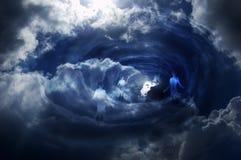 ουρανός πυλών Στοκ εικόνα με δικαίωμα ελεύθερης χρήσης