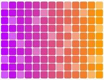 το χρώμα ανασκόπησης κυβίζει πολυ Στοκ Εικόνες