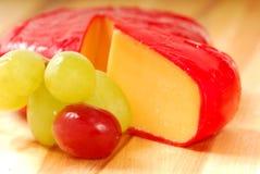 виноградины сыра чеддера Стоковое Изображение RF