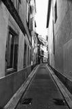 缩小的史特拉斯堡街道 免版税库存图片